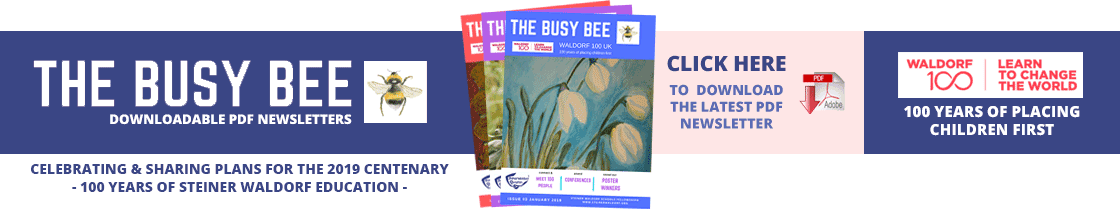 The Busy Bee Newsletter Banner - CLICK HERE TO DOWNLOAD THE LATEST PDF NEWSLETTER